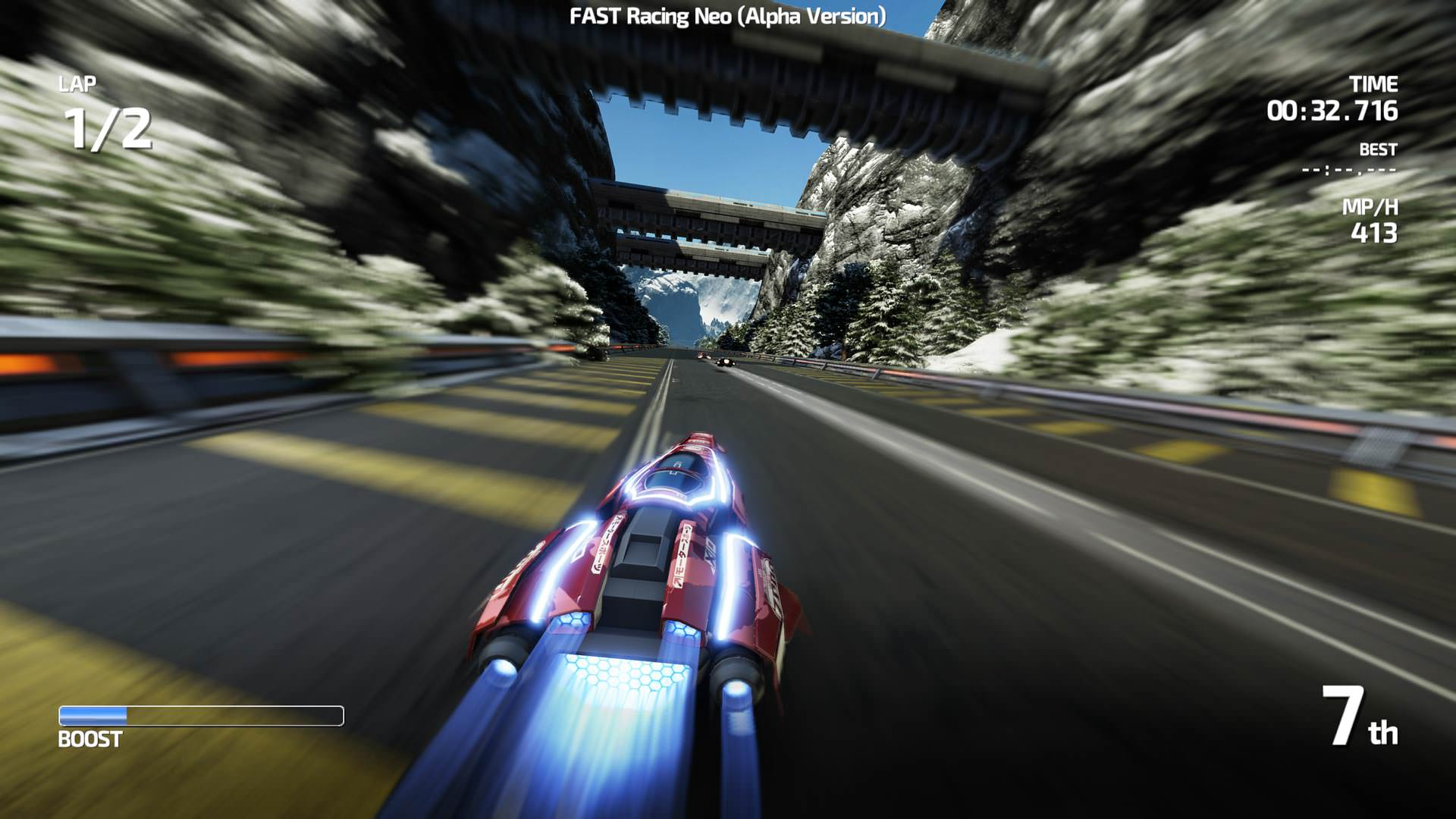 'FAST Racing Neo' nos muestra su multijugador local en un nuevo gameplay