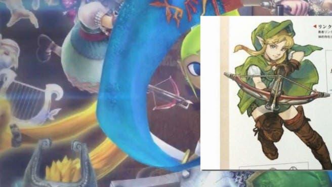 ¿Podría la versión femenina de Link unirse a 'Hyrule Warriors: All Stars'?