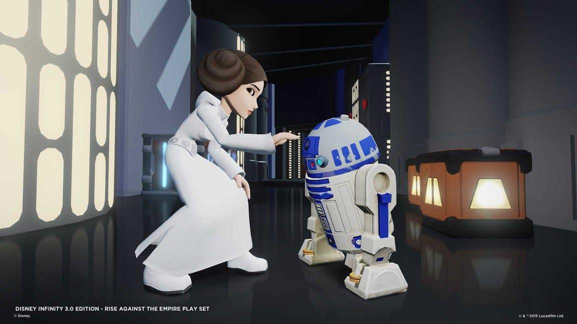 Imágenes, figuras y detalles de 'The Star Wars Rise Against the Empire Play' para 'Disney Infinity 3.0'