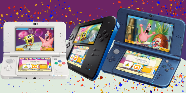Seis nuevos temas de 'Bob Esponja' y 'Las Tortugas Ninja' ya disponibles para 3DS
