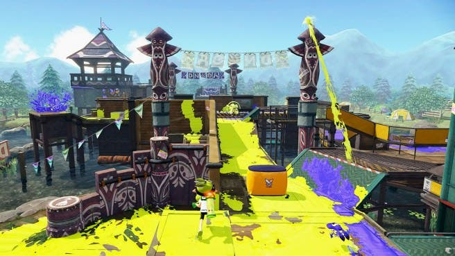 Ya disponible el Campamento Arowana en 'Splatoon'. ¡Descripción oficial y gameplay aquí!