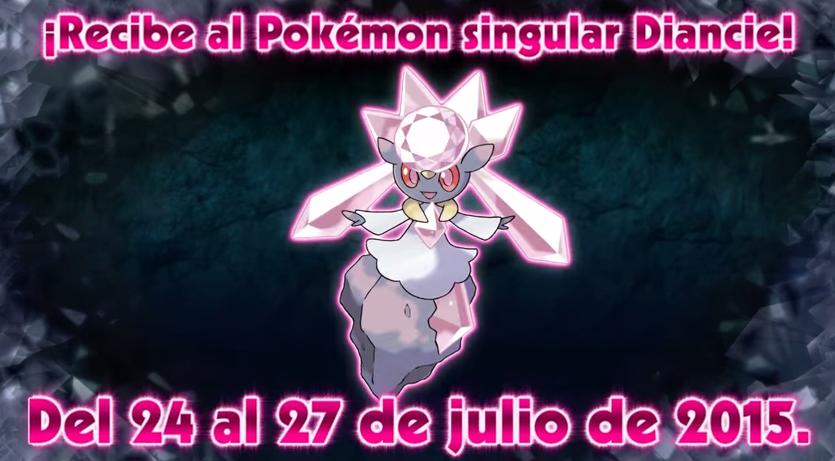 Nuevo evento de distribución para conseguir al pokémon singular Diancie en 'Pokémon RO / ZA'