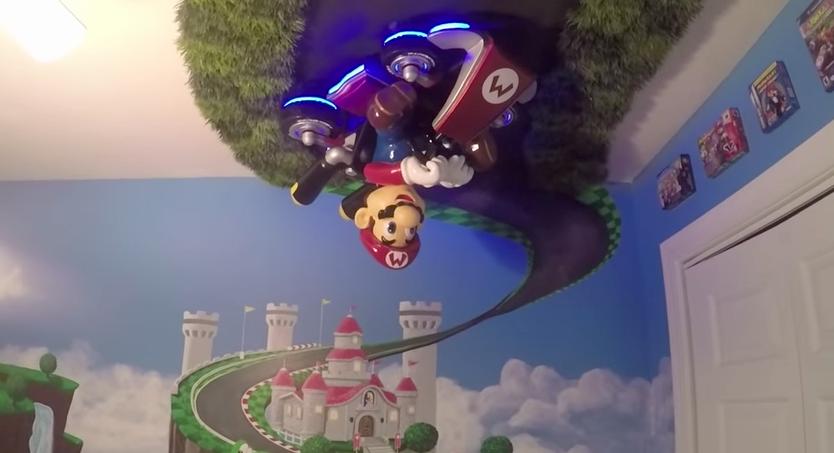 Echa un vistazo a esta original guardería inspirada en 'Mario Kart 8'