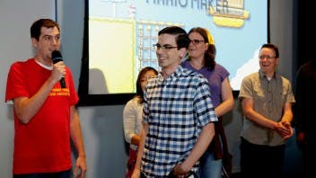 Super Mario Maker Hackathon at Facebook