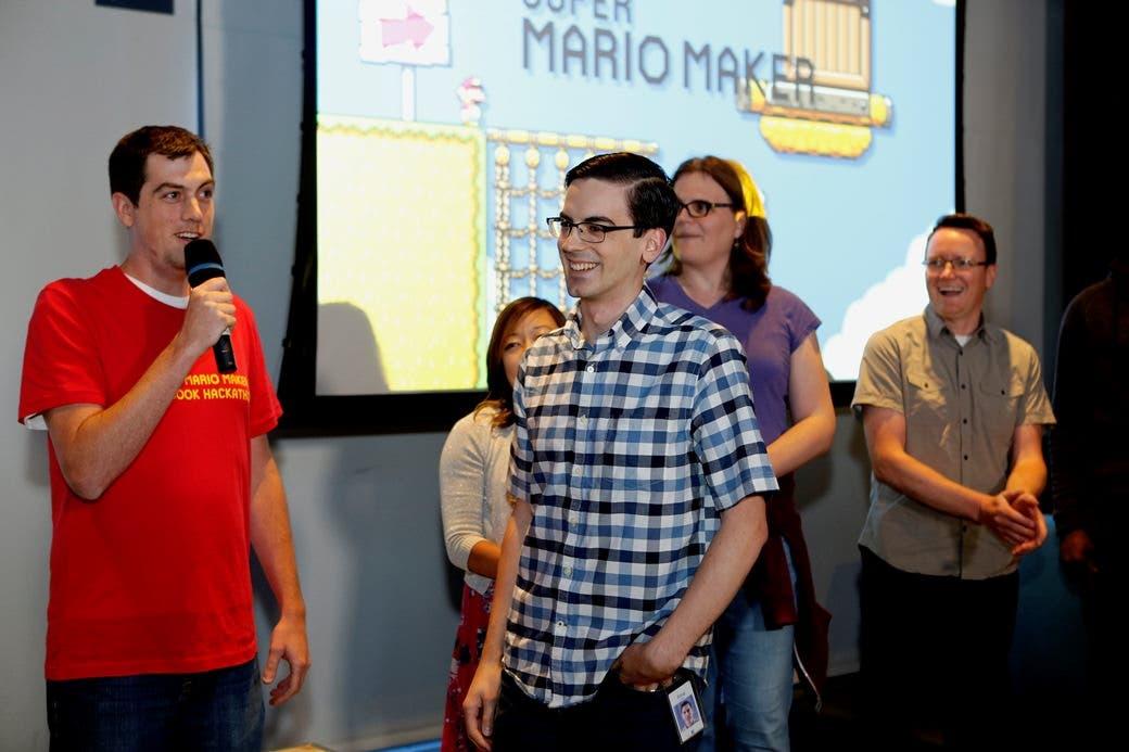 Así ha sido el Hackathon de 'Super Mario Maker': detalles, imágenes y vídeo