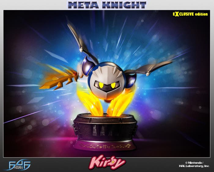Así luce la espectacular figura de Meta Knight de First 4 Figures. ¡Ya disponible para su reserva!