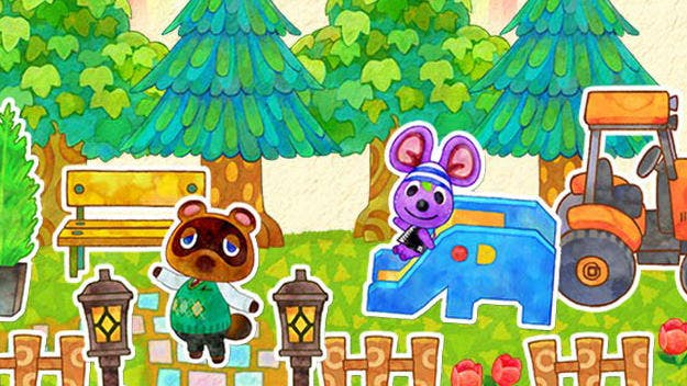 Nintendo ha repartido tarjetas RA para la app 'Photos with Animal Crossing' en el Hyper Japan