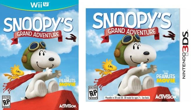 Activisión anuncia oficialmente 'The Peanuts Movie: Snoopy's Grand Adventure'