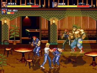 Tráiler de '3D Streets of Rage 2'