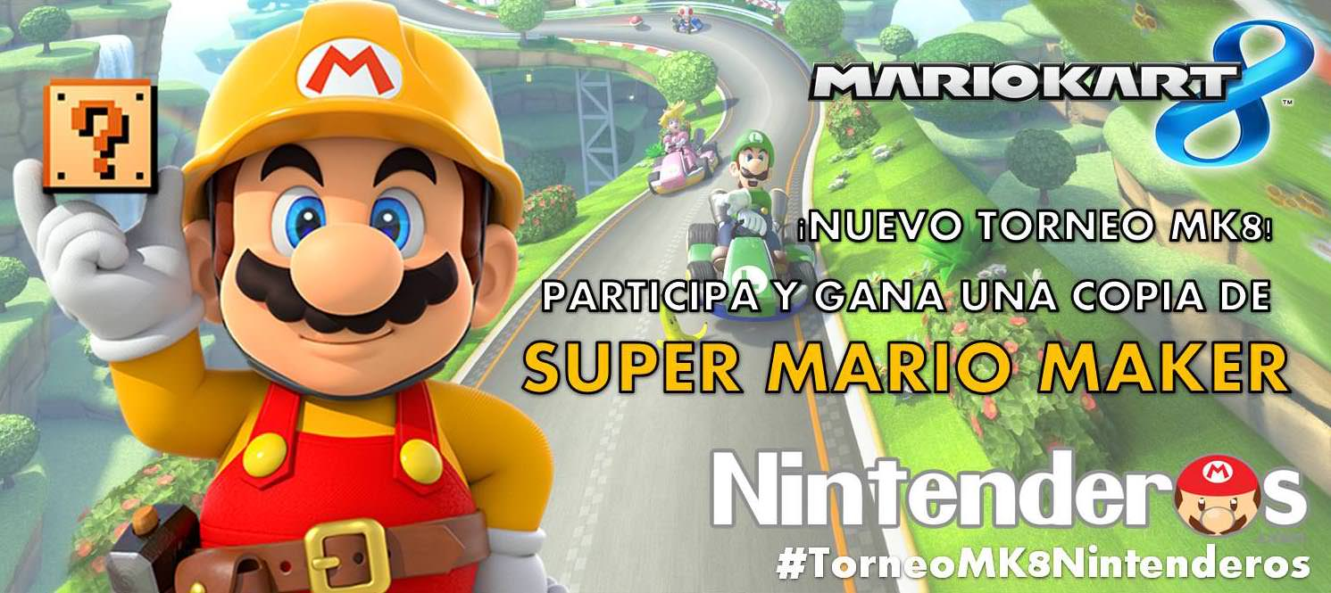 Información sobre la semifinal y la final del torneo de 'Mario Kart 8'