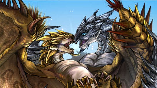 La Rathian dorada G y el Rathalos plateado G llegan a 'Monster Hunter 4 Ultimate' en julio