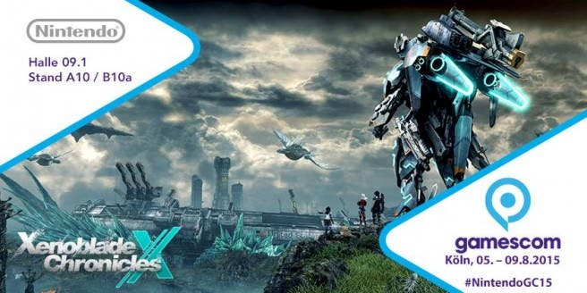 La GamesCom nos muestra 'Xenoblade Chronicles X' en movimiento