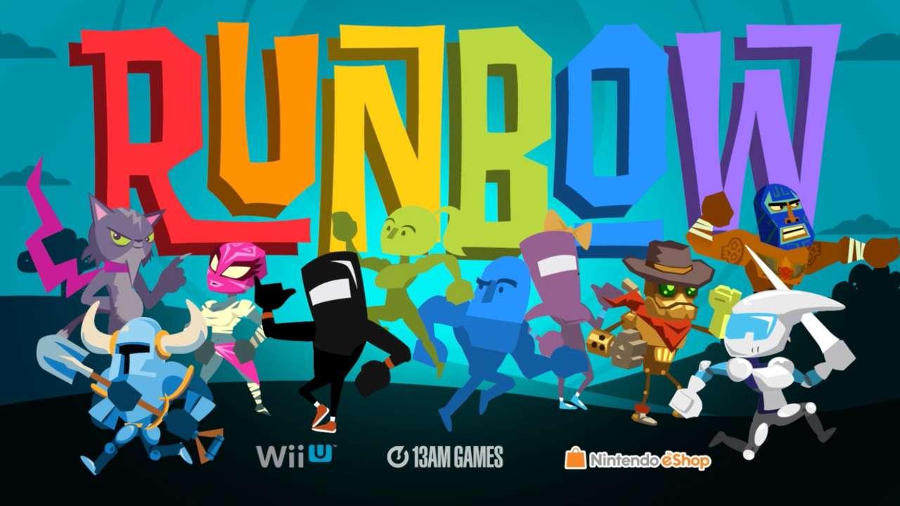 Así luce el nuevo tema de Runbow para 3DS