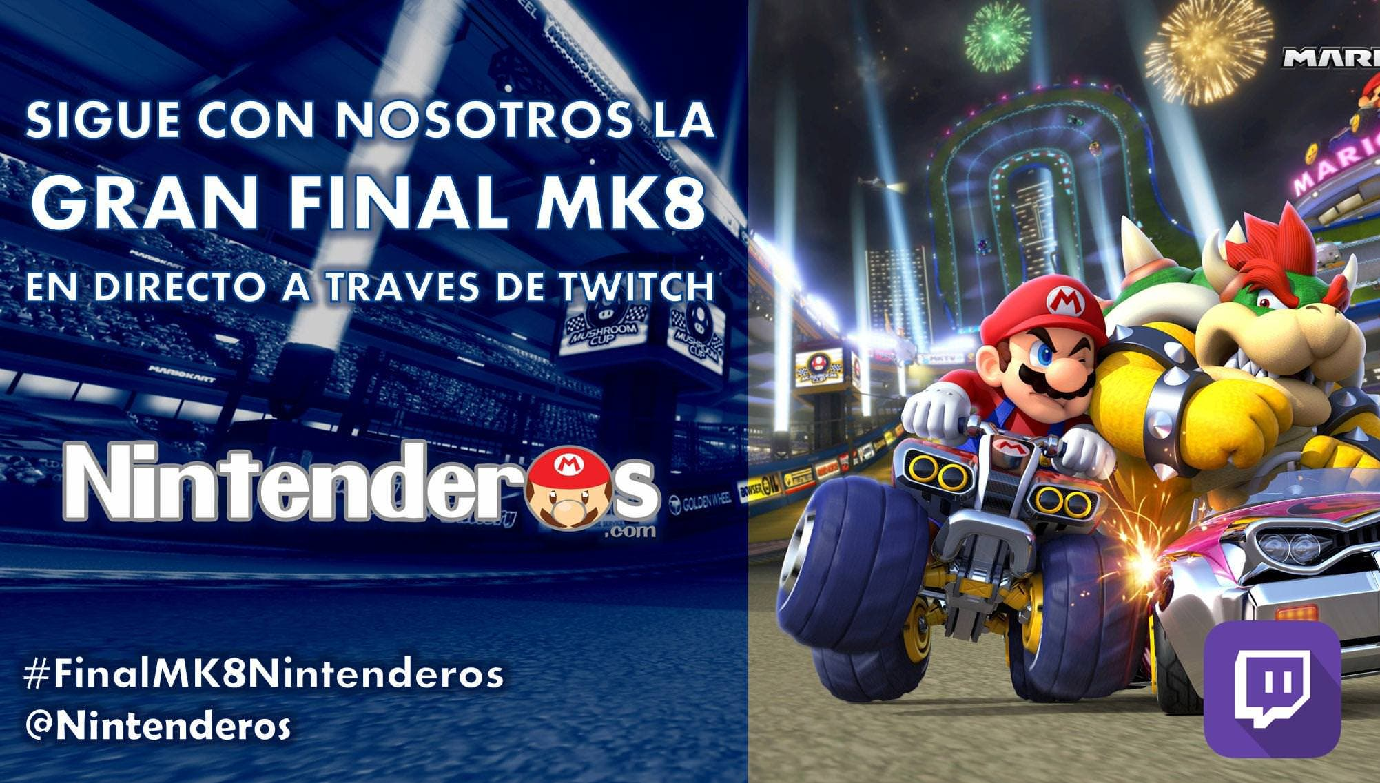 Resultados de la semifinal del Torneo Mario Kart 8. ¡No te pierdas mañana la gran final!