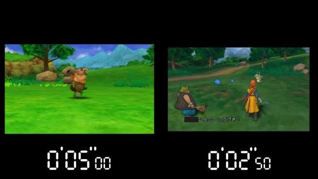 Un nuevo vídeo de 'Dragon Quest VIII' compara las velocidades de carga entre las versiones de 3DS y PS2