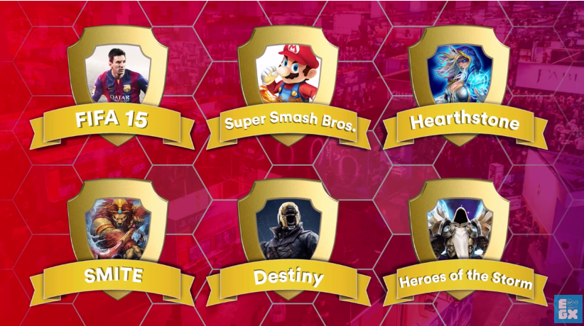 'Super Smash Bros. for Wii U' será uno de los seis juegos presentes en el Virgin Media Gaming Hexathlon del EGX 2015