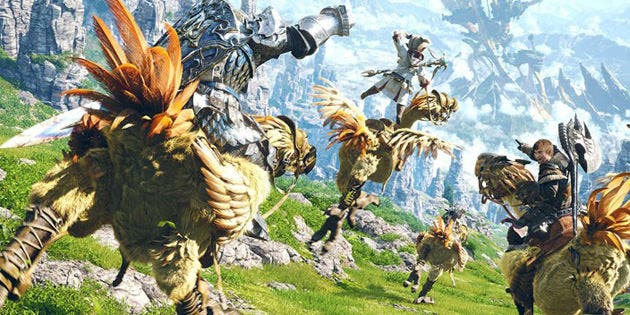 'Final Fantasy XIV' podría llegar a NX