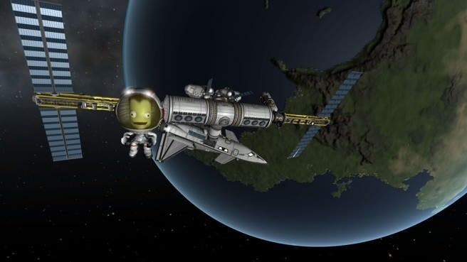 'Kerbal Space Program' se aleja de Wii U