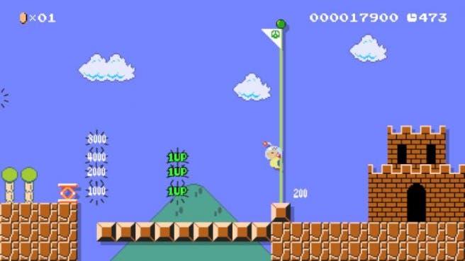 Así luce el traje de Olimar en 'Super Mario Maker'