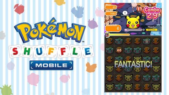 'Pokémon Shuffle Mobile' comienza a estar disponible en Occidente