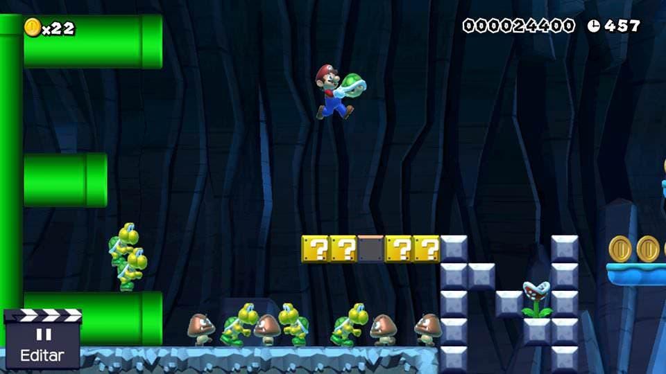 """Miyamoto fue quien empujó a Tezuka a crear """"algo más grande que un 'Mario Paint'» con 'Super Mario Maker'"""