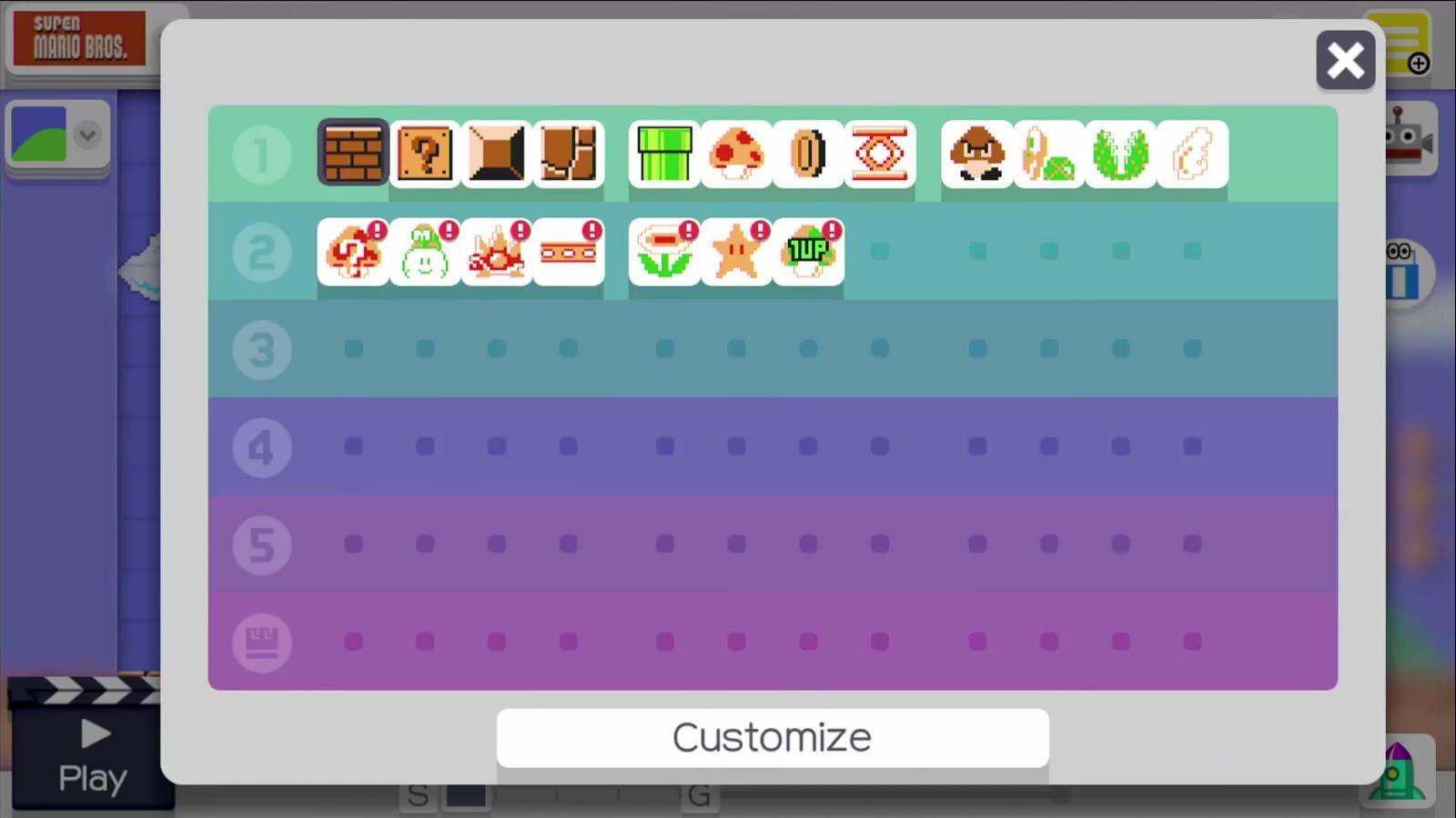 Tezuka nos explica por qué tenemos que esperar para tener todos los materiales en 'Super Mario Maker'