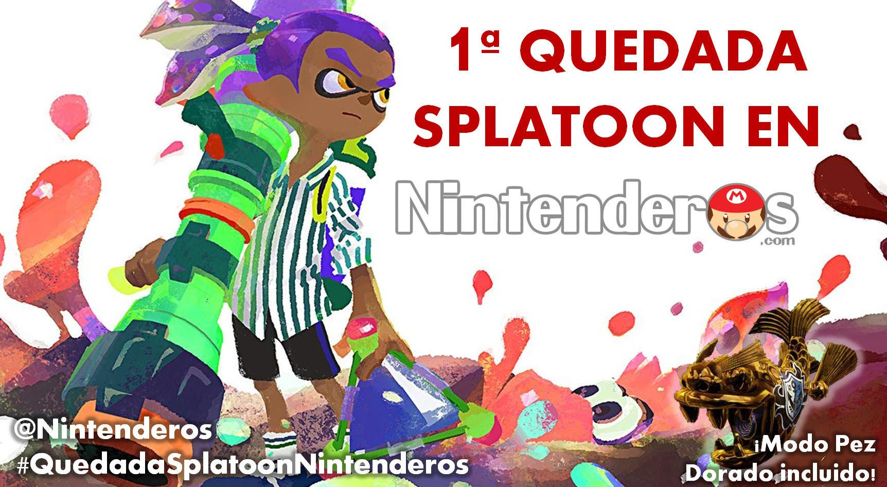 quedada splatoon