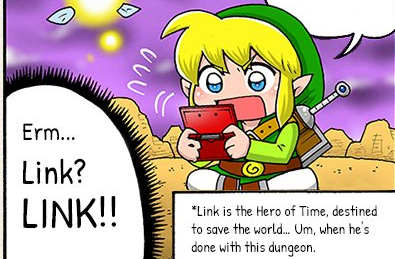 Nintendo publica el webcomic de 'The Legend of Zelda: Las gamberradas de Link'