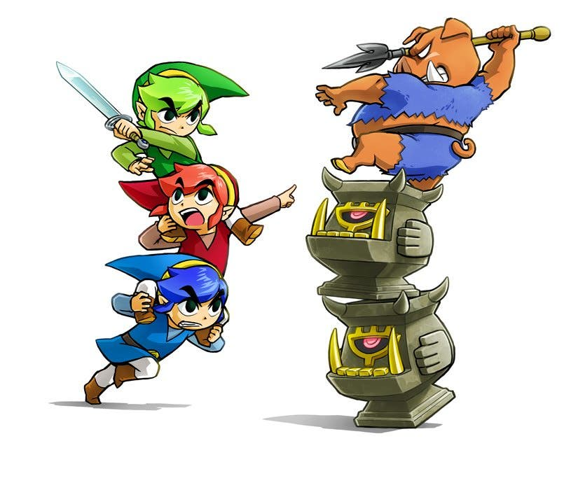 'Zelda: Tri Force Heroes' repite como el juego más vendido en la eShop de 3DS (2/11/15)
