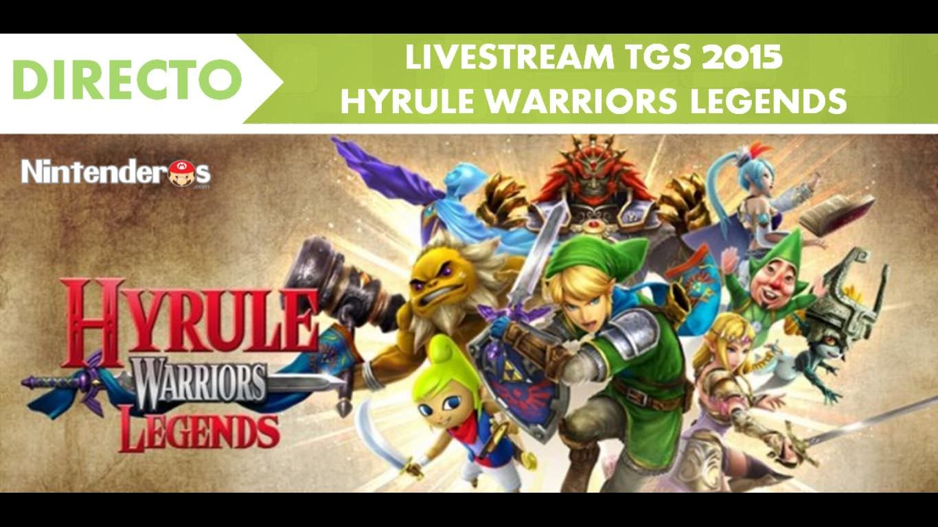 Sigue aquí en directo el livestream de 'Hyrule Warriors Legends'