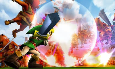 Ronda de imágenes: 'Hyrule Warriors Legends', 'Puzzle & Dragons X', 'Mario & Luigi: Paper Jam' y más