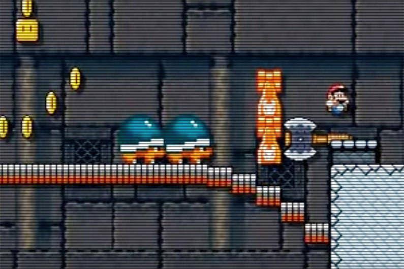 Un nivel de 'Super Mario Maker' hace llorar a un usuario
