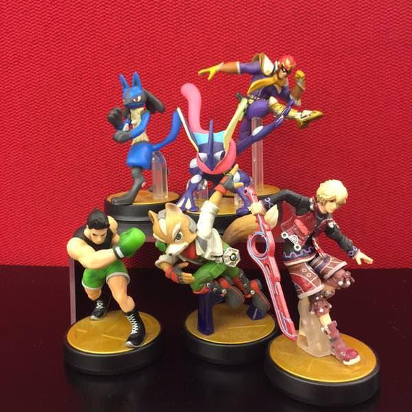 Nintendo of America promete reponer los amiibo de Little Mac, Greninja, Shulk, Lucario, Fox y Captain Falcon