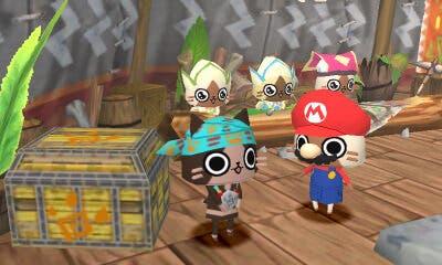 'Monster Hunter Diary: Poka Poka Airou Village DX' recibe el traje de Mario