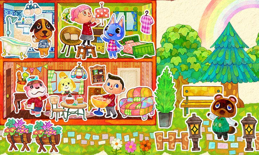 Ventas de octubre en España: 'Animal Crossing: Happy Home Dessigner' convence al público