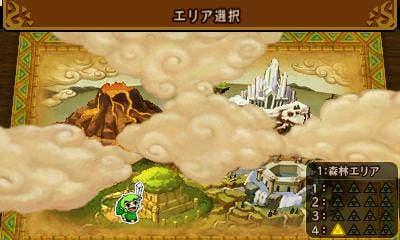 Descubrimos el mapa de 'Zelda: Tri Force Heroes' en estas nuevas capturas