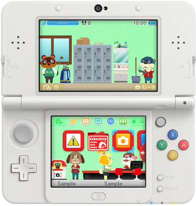 Japón recibe un nuevo lote de temas para Nintendo 3DS (2/9/15)
