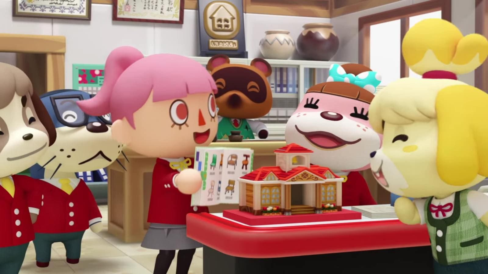 Ya está disponible el episodio 1 de 'Animal Crossing: Happy Home Designer TV'
