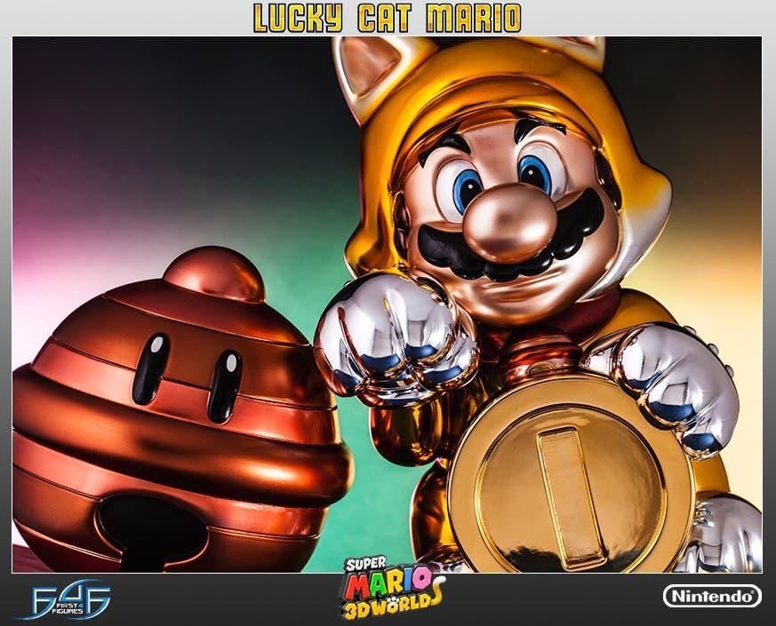 First 4 Figures abre las reservas para estas increíbles figuras de 'Super Mario 3D World'