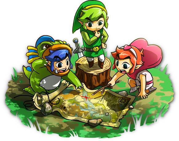 Detallados los modos de juego de 'The Legend of Zelda: Tri Force Heroes'