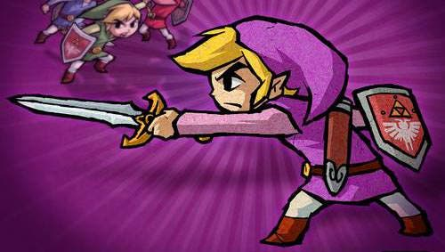Encuentran una referencia al Link Morado en 'The Legend of Zelda: Tri Force Heroes'