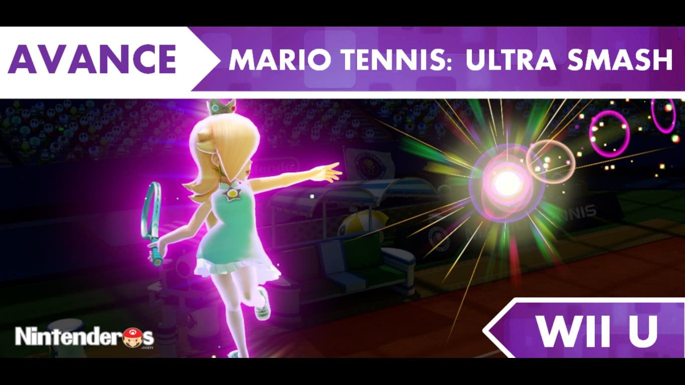 [Avance] 'Mario Tennis: Ultra Smash'