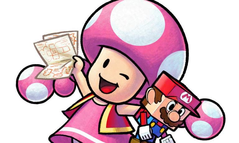 Toneladas de nuevos artworks de 'Mario & Luigi: Paper Jam'