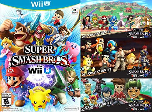 Un pack de 'Super Smash Bros for Wii U/3DS' llega a Amazon.com junto a los tres primeros packs de DLC