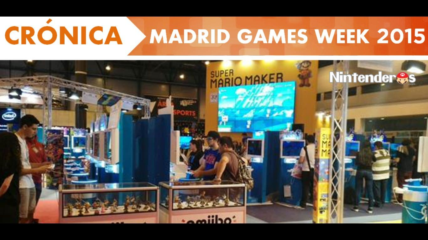 [Crónica] Madrid Games Week 2015