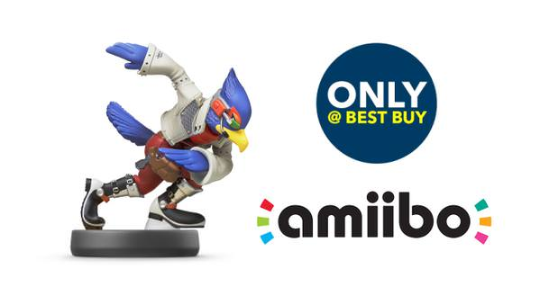 El amiibo de Falco será exclusivo de Best Buy en América