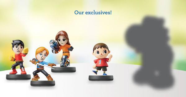 Los amiibo de los Luchadores Mii llegarán a las tiendas Toys 'R' Us norteamericanas el 1 de noviembre