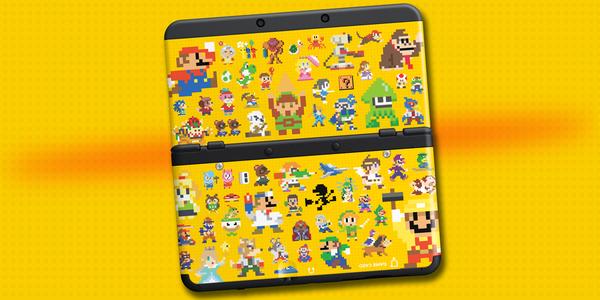 Las cubiertas de 'Super Mario Maker' para New 3DS también llegarán a Europa el próximo mes