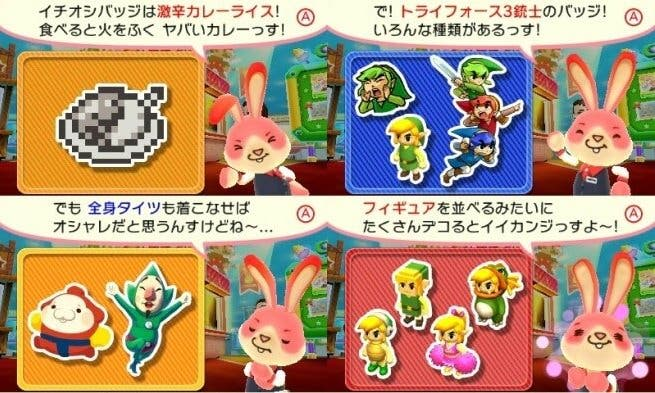 'Zelda: Tri Force Heroes' y 'Kirby' llegan al 'Collectible Badge Center'