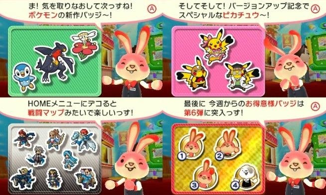'Collectible Badge Center' recibe insignias de 'Animal Crossing','Pokémon', 'Fire Emblem' y más